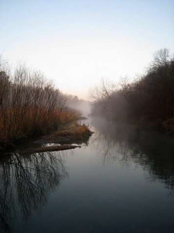 Muskegon's Ruddiman Creek during the late fall of 2009