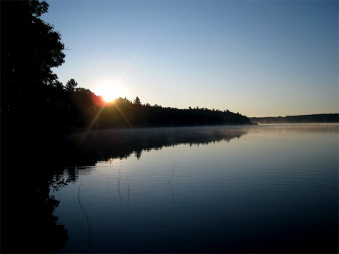 Muskegon County's Duck Lake State Park on August 15, 2011