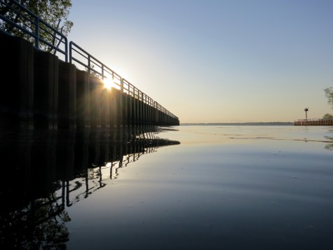 Muskegon County's White Lake channel, May 19, 2012